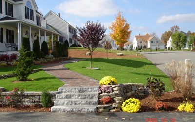 Landscaping in the Fall