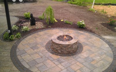 Bring camping to your backyard with an outdoor firepit